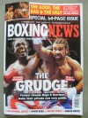 David Haye And Audley Harrison Boxing News Weekly Magazine Front Cover Pre Fight Photo SIGNED By Audley Harrison