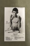 Johnny Owen Former British And Commonwealth And European Bantamweight Champion And WBC World Title Challenger SCARCE SIGNED Promotional Photo