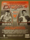 Joe Calzaghe Early Career 4th Professional Fight Against Martin Rosamund Official Onsite Programme