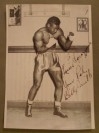 Oakland Billy Smith Who Fought The Legendary Archie Moore And Ezzard Charles Plus Charley Burley SIGNED And INSCRIBED Original Studio Photo