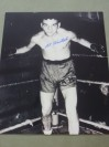 Al Hostak THE SAVAGE SLAV Who Twice Held The NBA Middleweight Title Between 1938 to 1940 SIGNED Photo