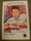 Gene Fullmer Former Middleweight World Champion SIGNED Limited Edition IBHOF Collectors Card