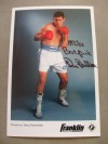 Dana Rosenblatt Jewish Middle And Super Middleweight Southpaw Who Held A Variety Of Minor Titles SIGNED And INSCRIBED Promotional Photo