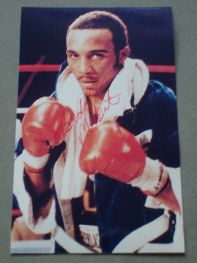 Buddy McGirt Former IBF Light Welterweight And WBC Welterweight World Champion SIGNED Photo