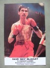 Dave Boy McAuley Former Flyweight World Champion SIGNED Promotional Photo