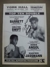 Pat Barrett vs Dwayne Swift Official Onsite Programme SIGNED By MANCHESTERS Former British And European Light Welterweight Champion Pat Barrett
