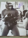 Ultimino Sugar Ramos Former WBA And WBC Featherweight World Champion And Hall Of Famer SIGNED Sparring Shot Photo