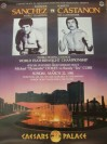 SCARCE Salvador Sanchez vs Roberto Castanon WBC Featherweight Title Official Onsite Poster