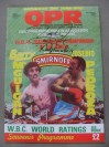 Barry McGuigan vs Eusebio Pedroza WBA Featherweight Championship of The World Official Onsite Programme SIGNED By Barry McGuigan