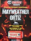 Floyd Mayweather Jr vs Victor Ortiz Tecate Fight Poster