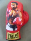John THE BEAST Mugabi Former WBC Light Middleweight World Champion SIGNED LIMITED EDITION Portrait Painted Everlast Glove
