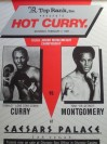 RARE Donald Curry vs Tony Montgomery USBA Light Middleweight Title Official Onsite Poster