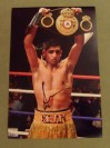 Amir Khan WBA And IBF Light Welterweight World Champion SIGNED After Fight Victory Celebration Photo