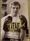 Jim Watt Former WBC Lightweight World Champion 1979 to 1981 SIGNED And INSCRIBED Boxing Pose Photo