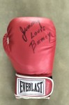 Jimmy Bivins Former Fearsome Heavyweight Contender And Hall Of Famer Fought Greats Such As Charles And Walcott Plus Joe Louis SIGNED Everlast Glove