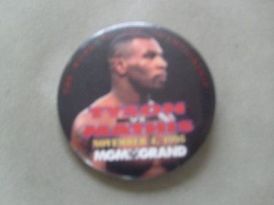Tyson vs Mathis Commemorative Official Pin