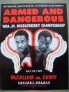 Mike McCallum vs Donald Curry WBA World Light Middleweight Title Official Onsite Programme