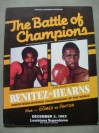 Wilfred Benitez vs Thomas Hearns WBC Light Middleweight World Title Also Featuring Wilfredo Gomez vs Lupe Pintor Official Onsite Programme