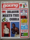 Colin Jones vs Donald Curry WBA World Welterweight Title Official Onsite Oversized Programme