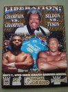 Mike Tyson vs Bruce Seldon WBA World Heavyweight Title Official Onsite Programme