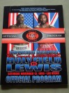 Lennox Lewis vs Evander Holyfield II WBC And WBA Plus IBF Official Onsite Programme BONUS FIGHT POSTER INCLUDED