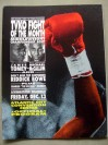 James Toney vs Mike McCallum I IBF Middleweight World Title Official Onsite Programme Also Featuring Riddick Bowe
