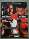 Evander Holyfield vs Alex Stewart I Also Featuring Hector Camacho vs Raul Torres Official Onsite Programme