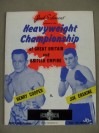 Henry Cooper vs Joe Erskine IV British And Commonwealth Heavyweight Title Official Onsite Programme