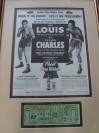 Joe Louis vs Ezzard Charles Full Official Onsite Ticket