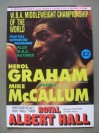 Herol Graham vs Mike McCallum WBA World Middleweight Title Official Onsite Programme