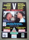 Chris Eubank vs Michael Watson II WBO Super Middleweight World Title Official Onsite Programme