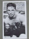 Tommy Paul Former 1932 to 1933 NBA Featherweight World Champion SIGNED And INSCRIBED Boxing Pose Photo
