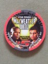 Floyd Mayweather Jr vs Victor Ortiz MGM Grand Commemorative Limited Edition Gaming Chip