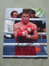 Saul Alvarez Undefeated WBC Light Middleweight World Champion SIGNED And INSCRIBED After Fight Photo