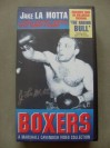 Jake LaMotta AKA The Bronx Bull SIGNED VHS Video Cassette Boxers Series Containing Highlights From 6 Epic Battles