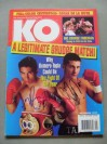 Johnny Tapia And Danny Romero DUAL SIGNED KO Magazine Featuring Their Eagerly Awaited Grudge Match