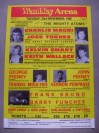 Charlie Magri vs Jose Torres II Also Featuring The Fighting Feeney Brothers From Hartlepool Along With Frank Bruno Official Flyer