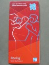 London 2012 Olympic Games Official Boxing Programme Spectator Guide