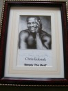 Chris Eubank Former Middleweight And Super Middleweight World Champion SIGNED Promotional Photo