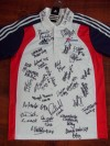 London 2012 Olympic Team GB Most Successful Ever Boxing Squad MULTI SIGNED Official Team GB Polo Shirt