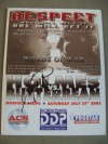 Larry Holmes vs Eric BUTTERBEAN Esch Heavyweight Contest Which Was To Be Holmes Last Fight Official Onsite Programme SIGNED By Larry Holmes
