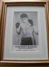 Barry McGuigan Former World Featherweight Champion SIGNED Early Career Promotional Photo