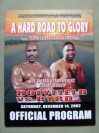 Evander Holyfield vs Chris Byrd IBF Heavyweight World Title Official Onsite Programme