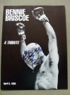 SCARCE The Most Feared Middleweight Of Any Era Philadelphia Legend Bennie Briscoe SIGNED Tribute Programme