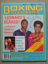 Thomas Hearns And Emanuel Steward DUAL SIGNED Boxing Illustrated Magazine