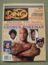 George Foreman Former Heavyweight World Champion And Hall Of Famer SIGNED Ring Magazine