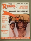 Curtis Cokes Former Welterweight World Champion And Hall Of Famer SIGNED And INSCRIBED Ring Magazine