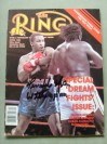 Tim Witherspoon Former WBC And WBA Heavyweight World Champion SIGNED And INSCRIBED Ring Magazine