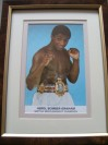 Herol Bomber Graham Former British Middleweight Champion SIGNED Promotional Photo