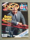 George Foreman Former Heavyweight World Champion And Hall Of Famer SIGNED 1991 Ring Magazine